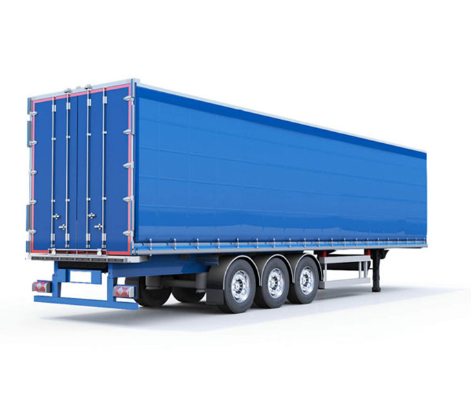 Curtainsider Trailer Hire